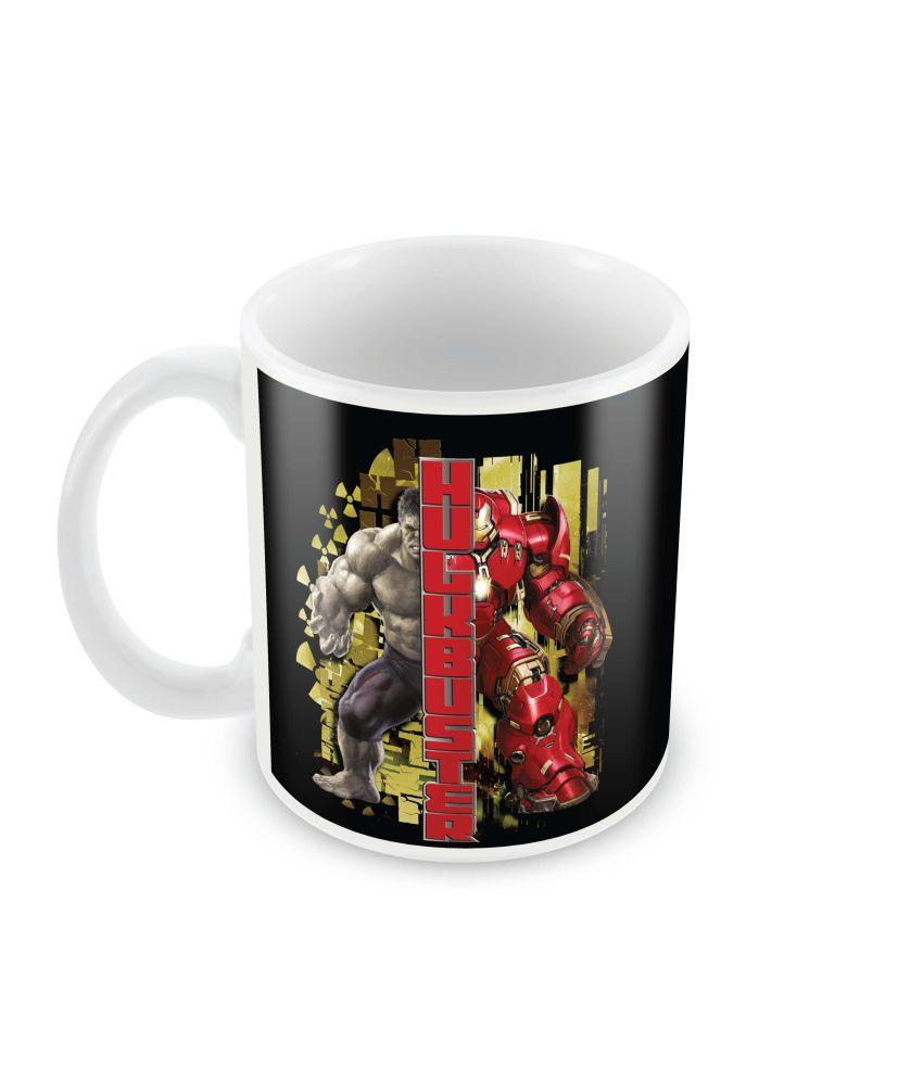 Marvel Hulk Buster Avengers Officially Licensed Mug