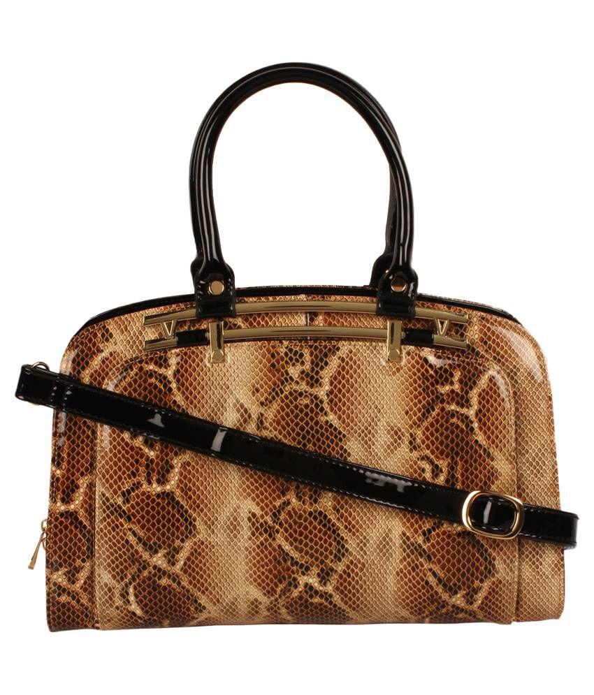Swan Brown Shoulder Bag
