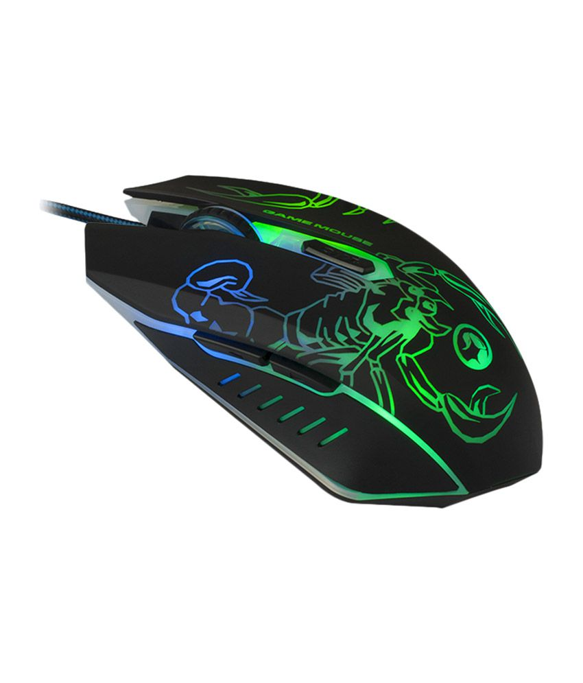 792c6b81db7 Buy Marvo M316 Scorpion Wired Gaming Mouse - Black Online at Best Price in  India - Snapdeal