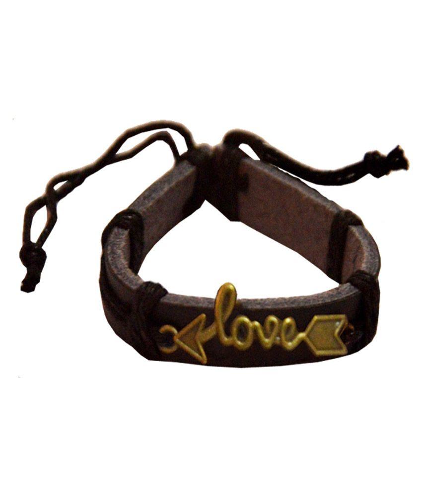 Men Style Black Adjustable Bracelet