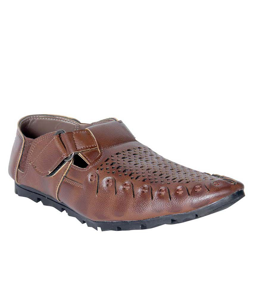 Panahi Brown Sandals