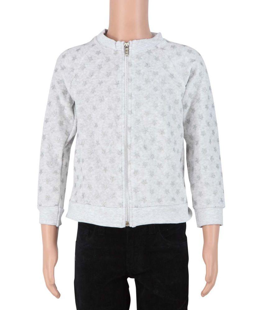 STOP White Cotton Jacket