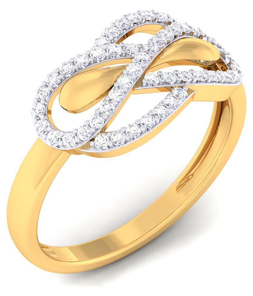 The Royal World 18 Kt Yellow Gold Ring