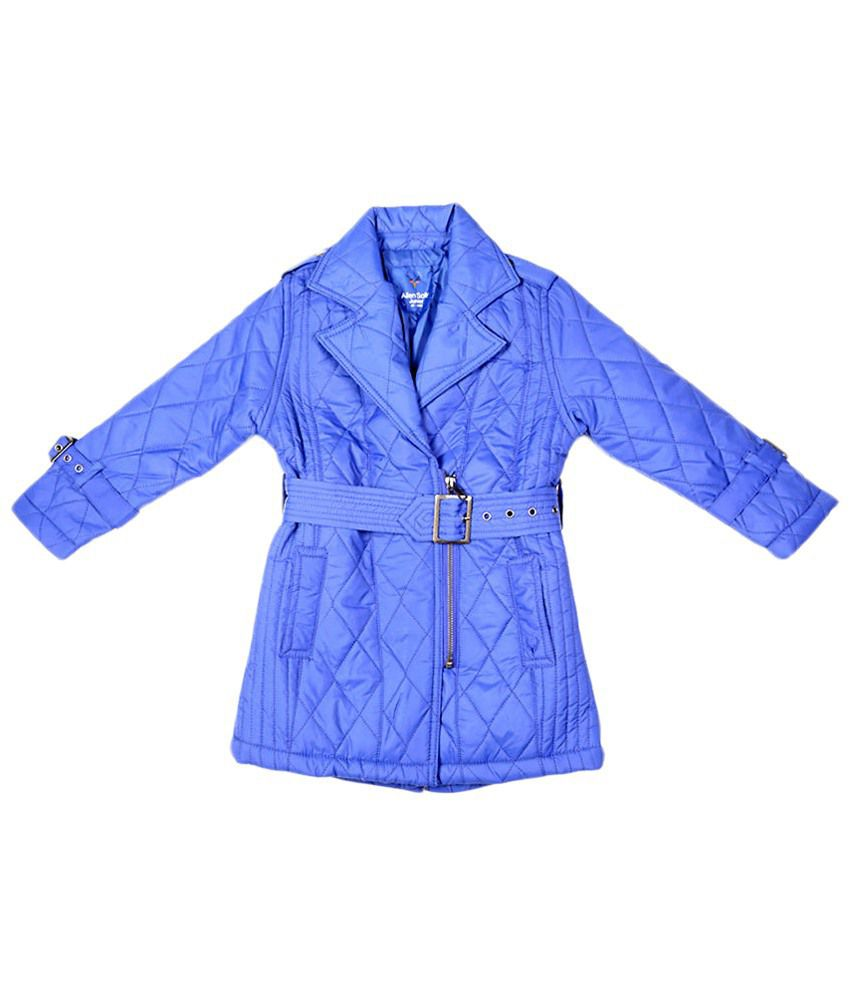 Allen Solly Blue Full Sleeve Jacket