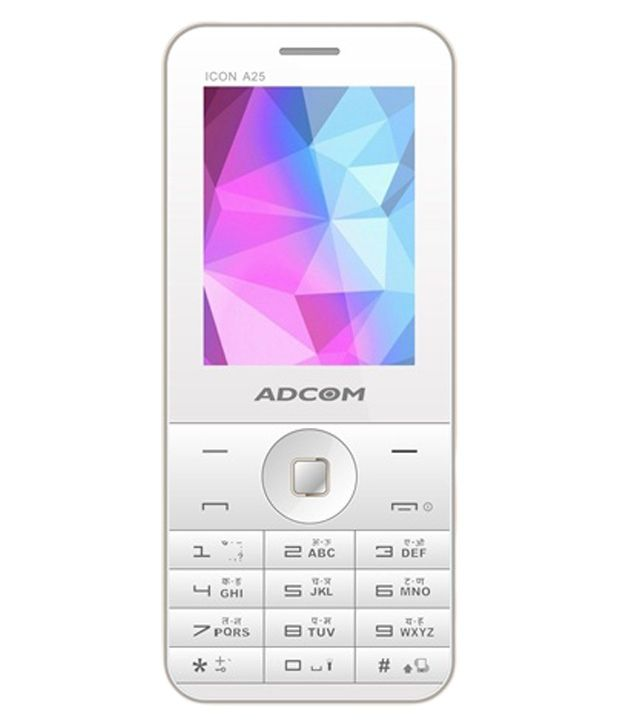 Adcom ICON A25 White and Gold