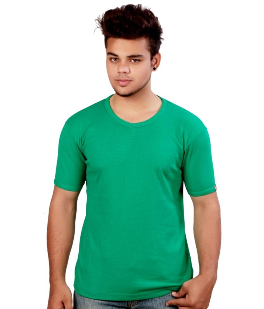 Calix Green Cotton T-Shirt - Pack Of 3