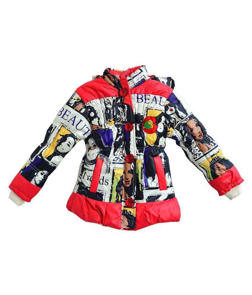 London Girl Red Jacket For Girls