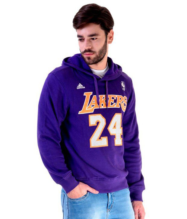 Adidas NBA Purple Lakers Sweatshirt Adidas NBA Purple Lakers Sweatshirt ... ae8789b4a