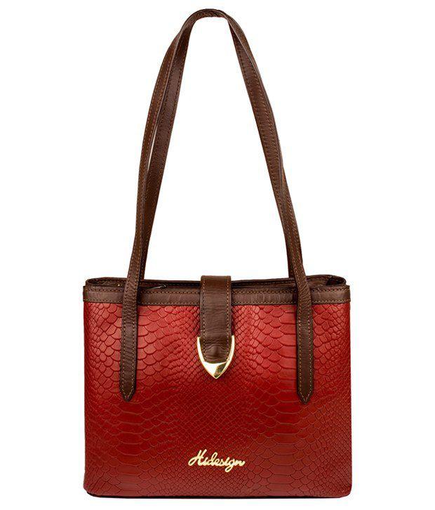 Hidesign Sb Aurora 01 Ge Marsala Brown Shoulder Bag