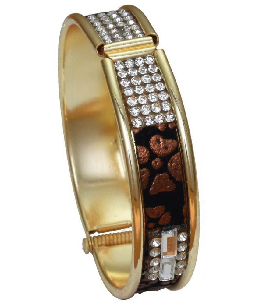 High Trendz Golden Brass Toe-ring