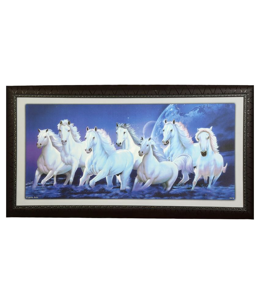 Truce Animal Wall Painting With Frame