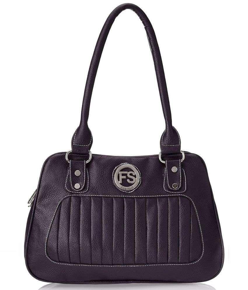 FOSTELO FSB-209 Purple Shoulder Bags No