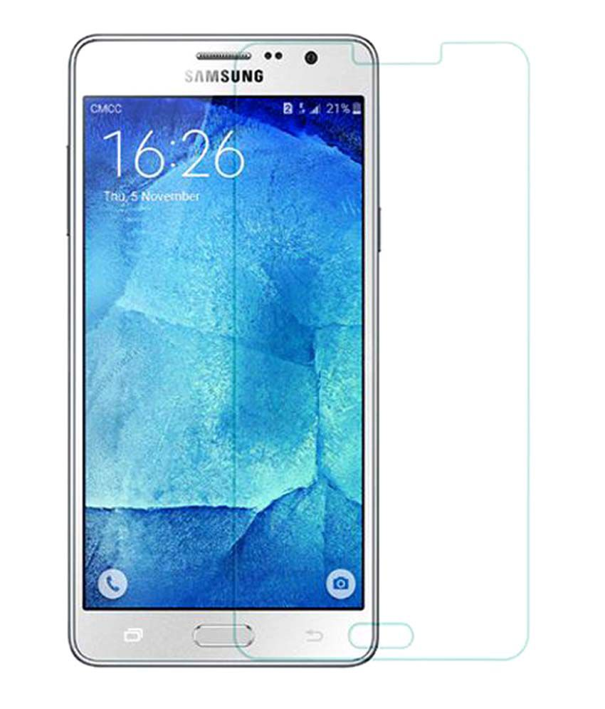 Samsung Galaxy On7 Tempered Glass Screen Guard by Uni Mobile Care