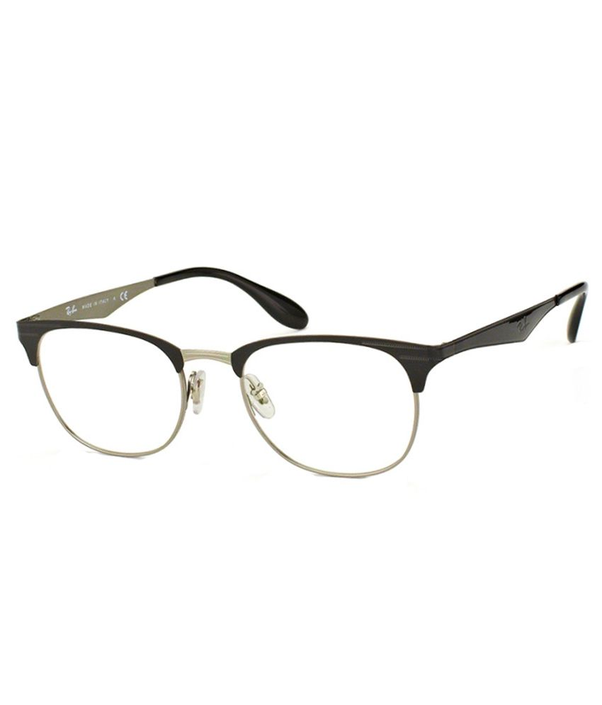 249487f5b65 Ray-Ban Men RX-6346-2861-52 Clubmaster Full Rim Eyeglasses - Buy Ray-Ban  Men RX-6346-2861-52 Clubmaster Full Rim Eyeglasses Online at Low Price -  Snapdeal