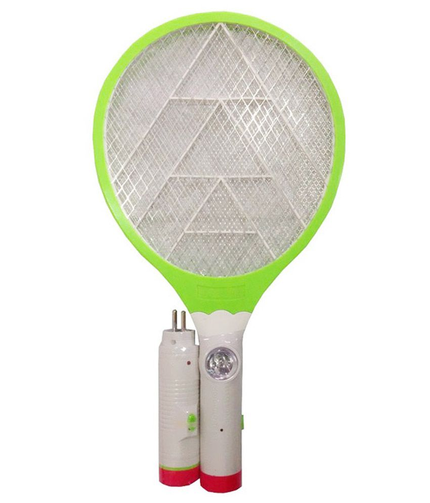 Aa Rechargeable Green Mosquito Killer Bat With Led Buy Aa