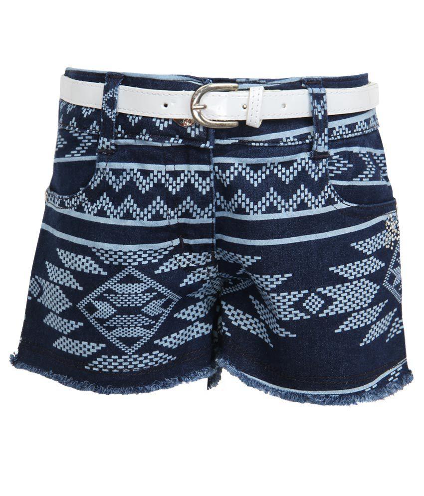 Tiny Girl Blue Denim Shorts