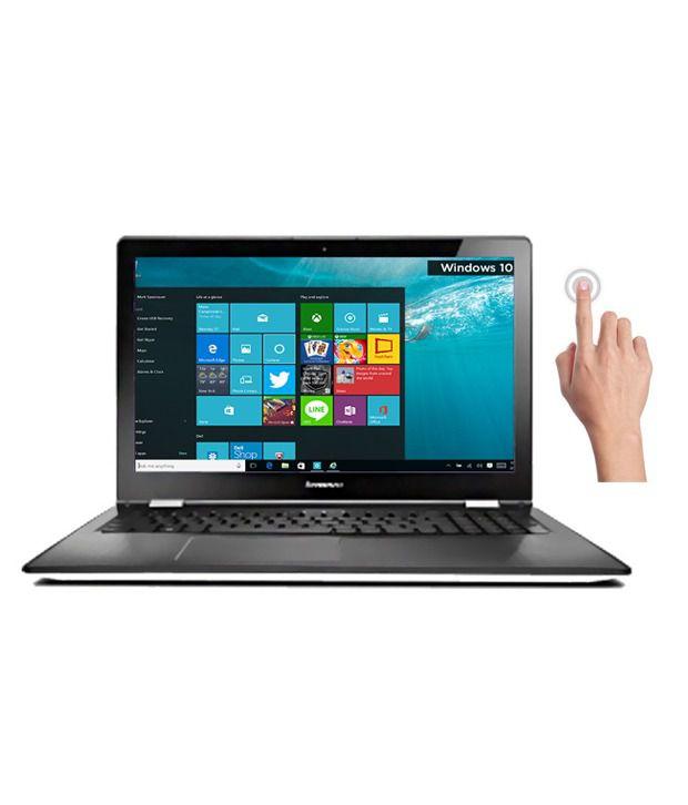 Lenovo Yoga 500 2-in-1 Laptop (80N400MKIN) (5th Gen Intel Core i5- 4GB RAM- 500GB HDD+8GB SSD Hybrid- 35.56 cm (14)- Touch- Windows 10) (White)