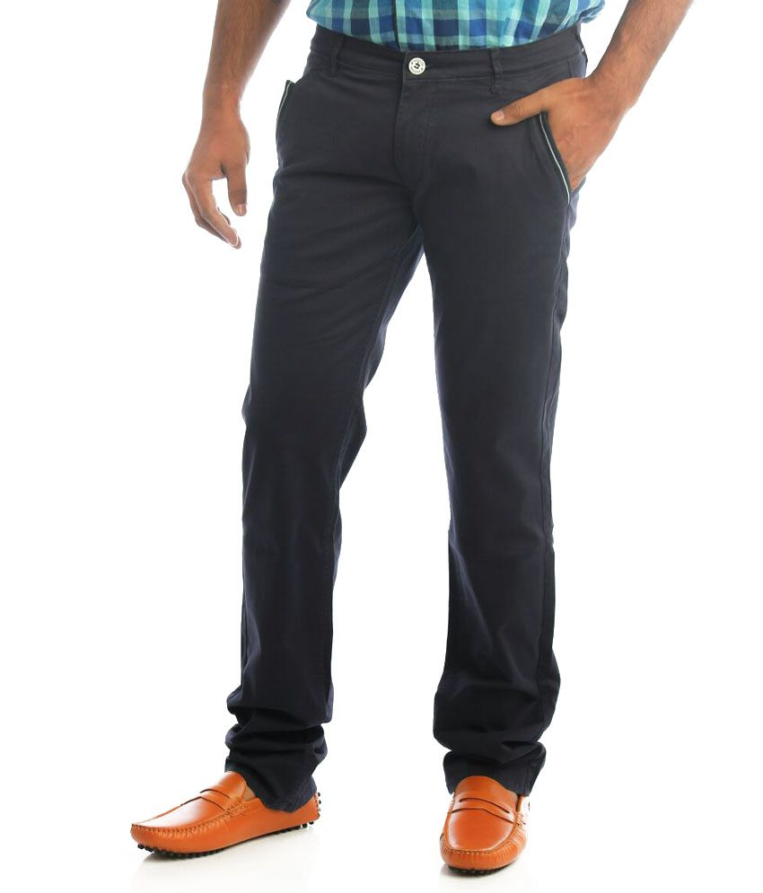 Shree Ram Garments Black Regular Fit Casuals