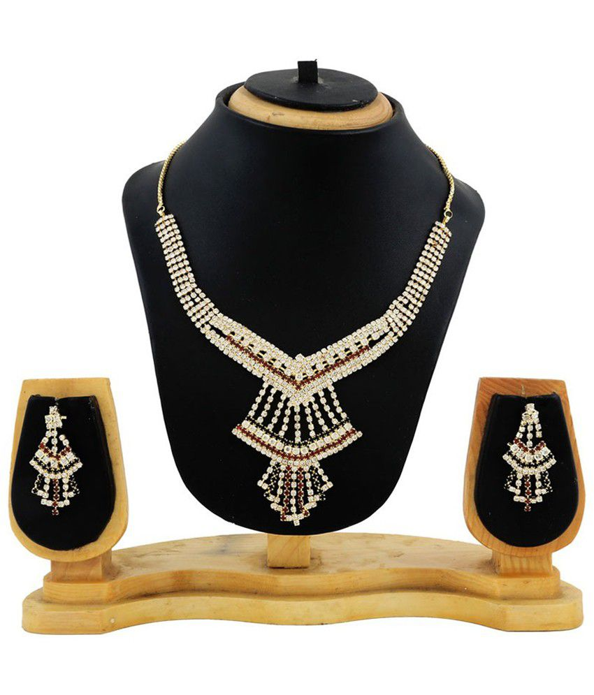 Hawai Multicolour Alloy Necklace Set