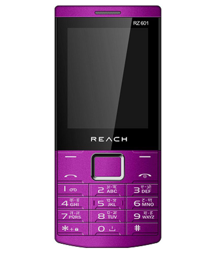 Reach R601 Purple and Black