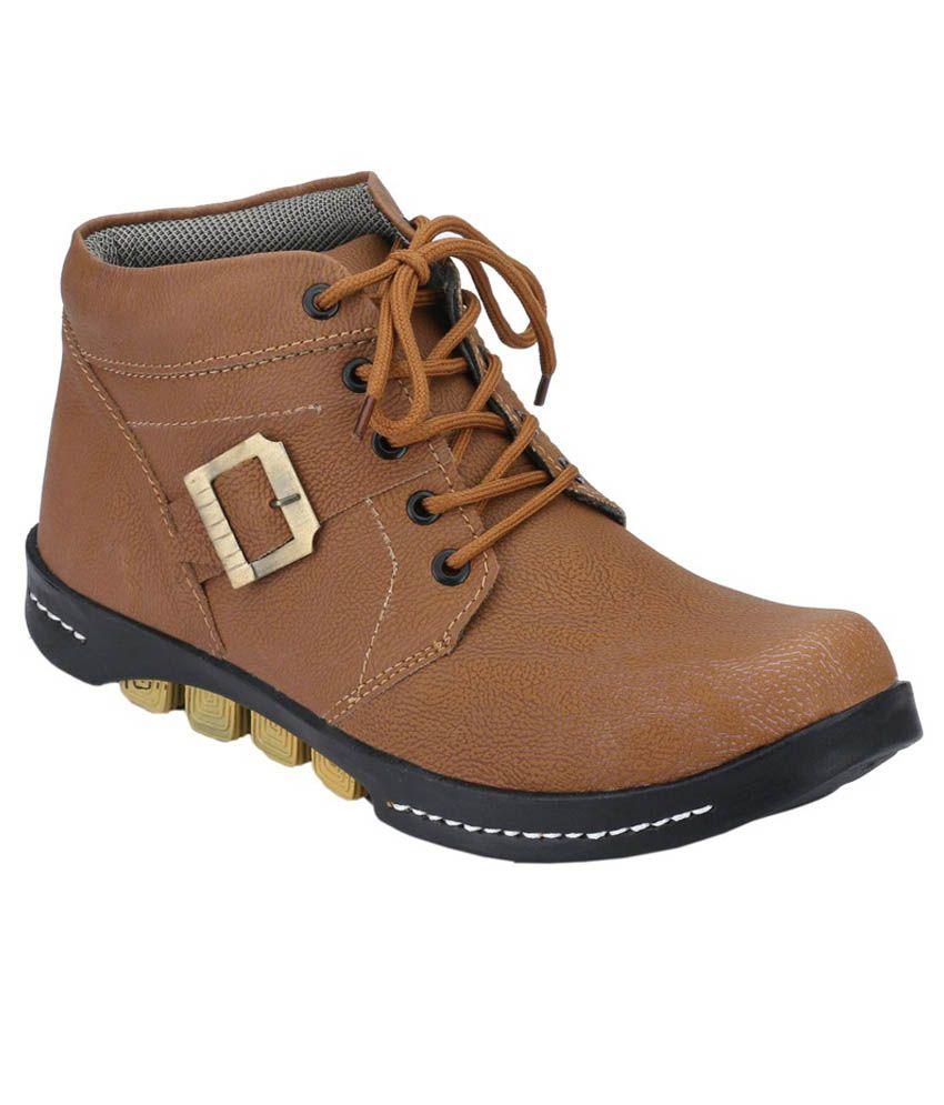 Aaron Brown Boots