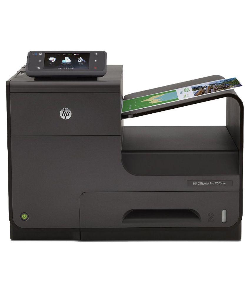 HP Officejet Pro X551dw CV037A Inkjet Colored Printer - Black