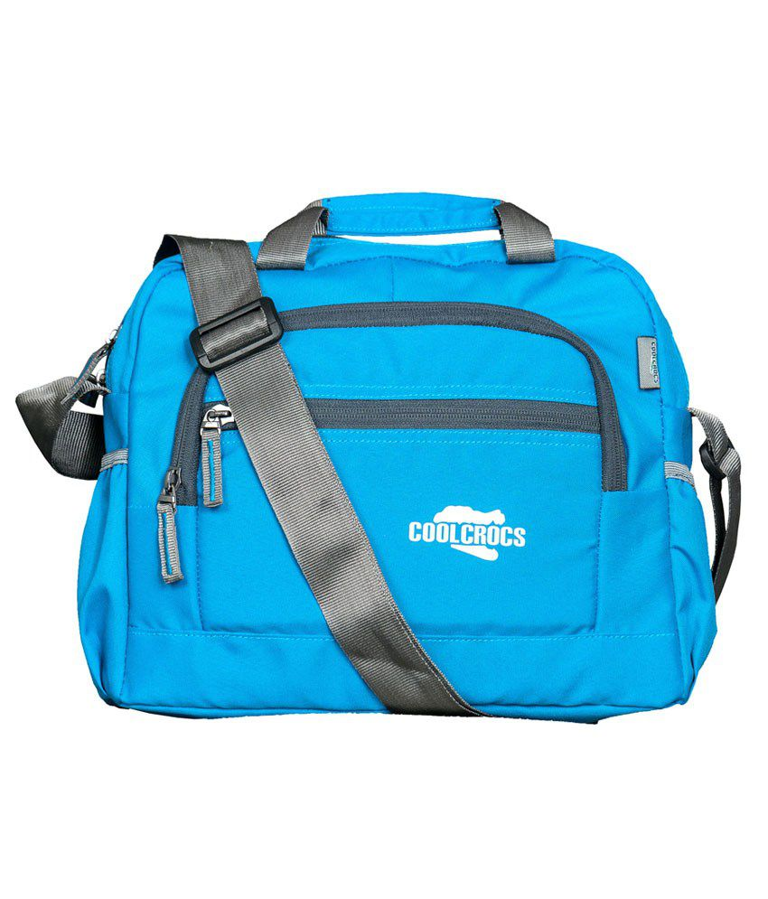 Coolcrocs Blue Messenger Bags