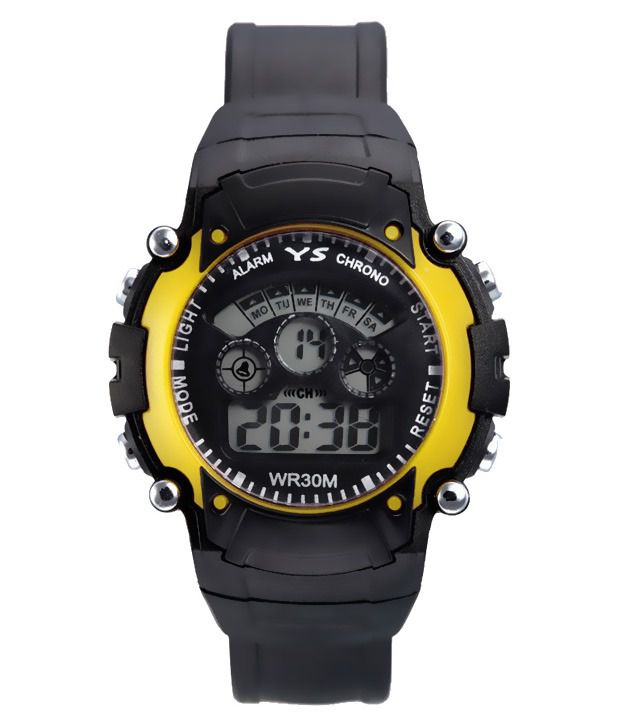 Legenddeal Black Digital Casual Watch