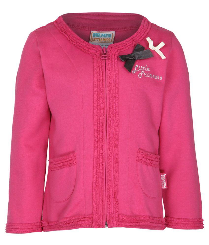 MMLM Pink Crew Neck Sweatshirt