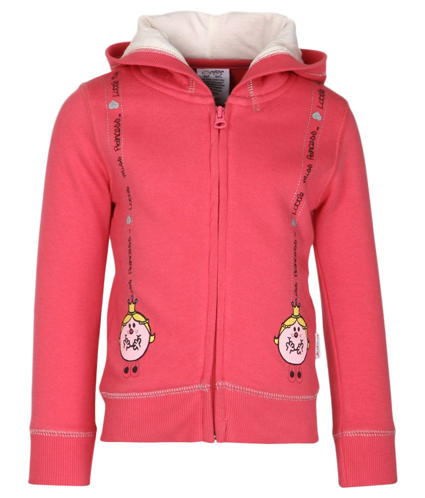 MMLM Pink With Hood Sweatshirt