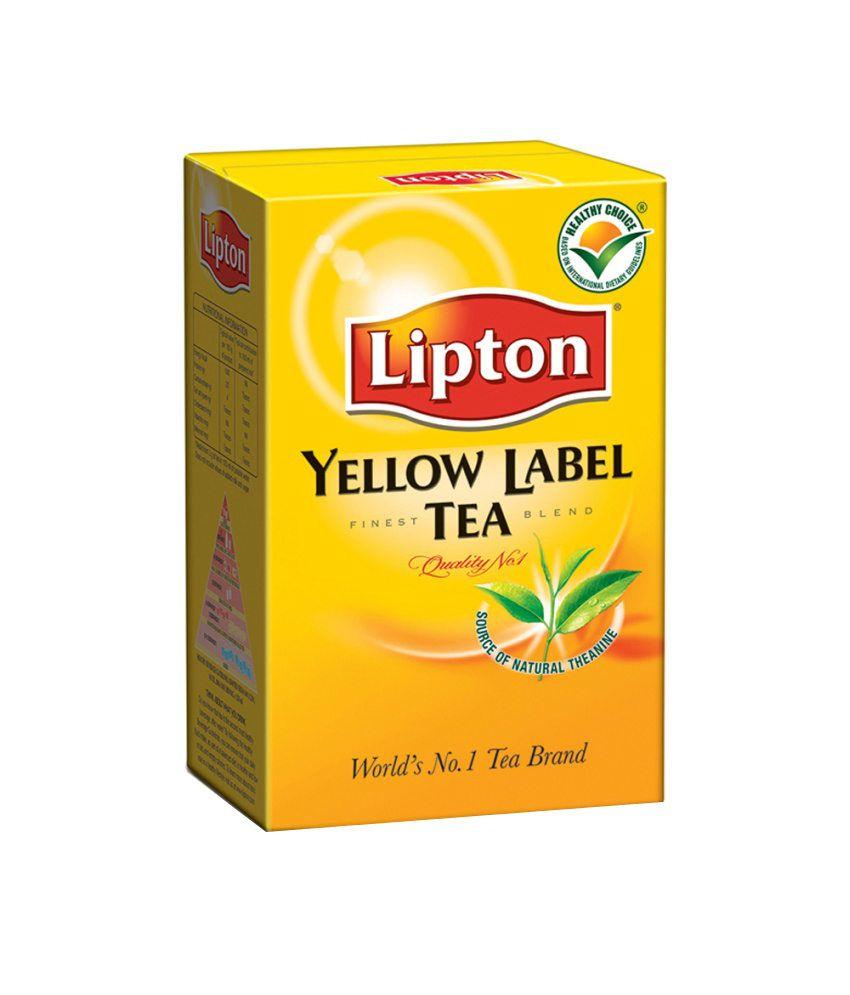 Lipton Yellow Label Tea Leaf Carton (250 g): Buy Lipton ...