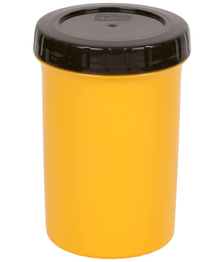 Lock & Lock Yellow Twist Container 330 ml