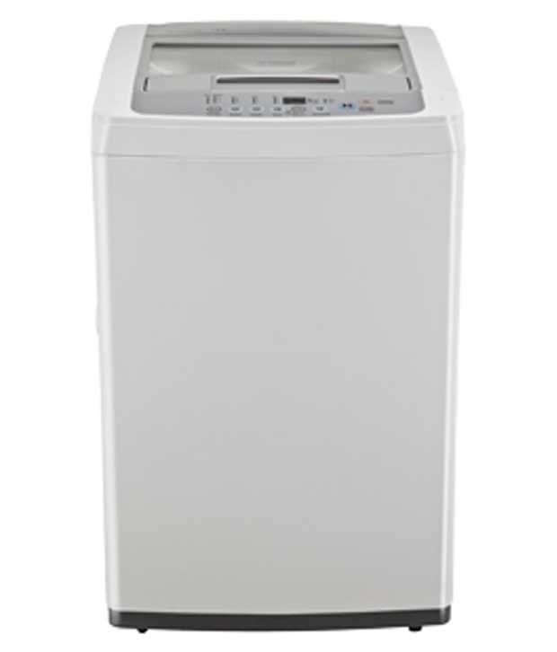 Lg 6 T7070tddl Fully Automatic Top Load Washing Machine Blue White/middle Free Silver