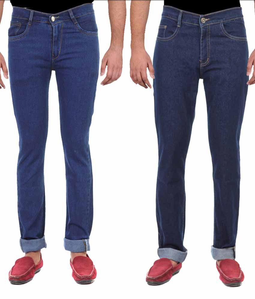 Ansh-Fashion-Wear-Blue-Slim-Fit-Jeans--Pack-of-2