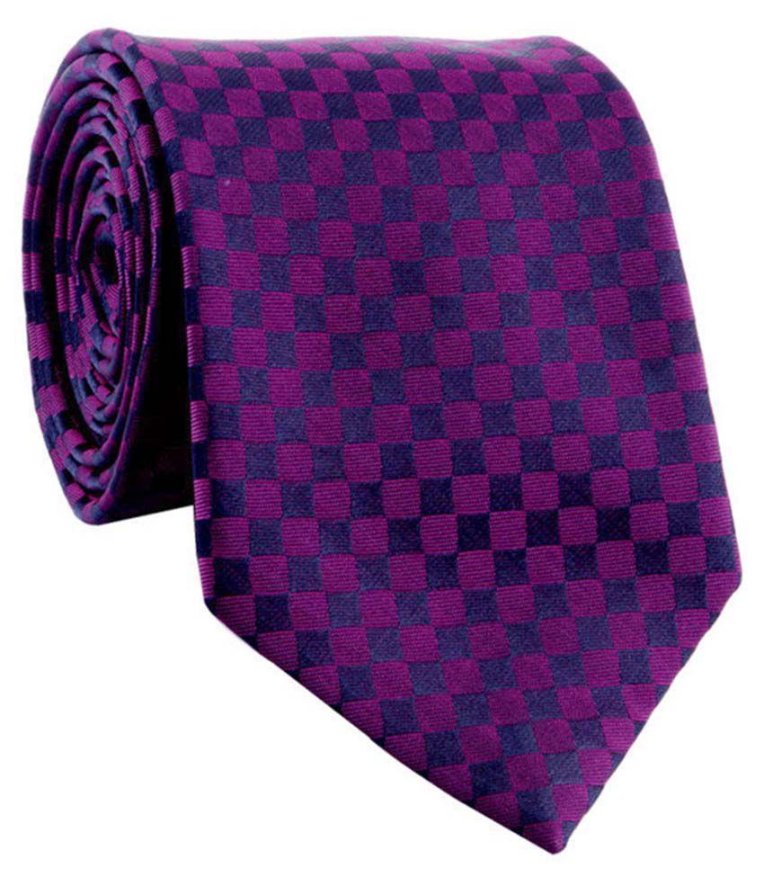 Cazzano Purple Formal Knitted Tie