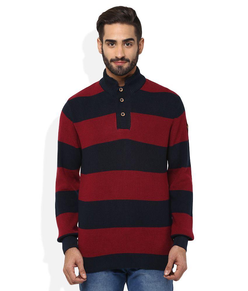 Spykar Red T-Shirt
