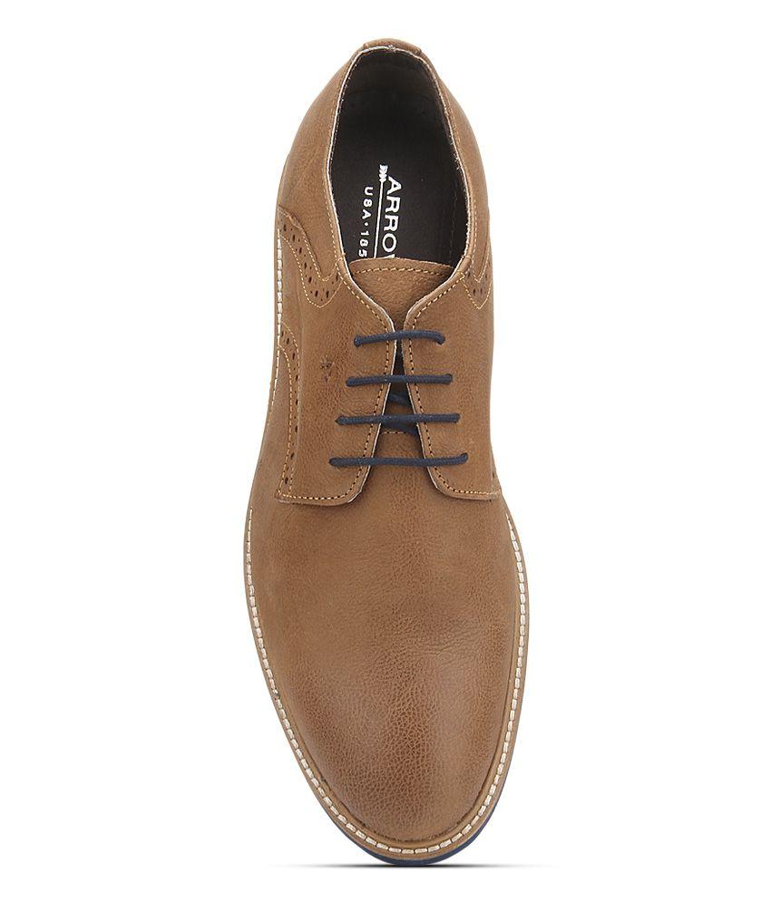 Arrow Tan Casual Shoes