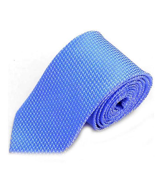 Btf Blue Formal Micro Fiber Broad Ties