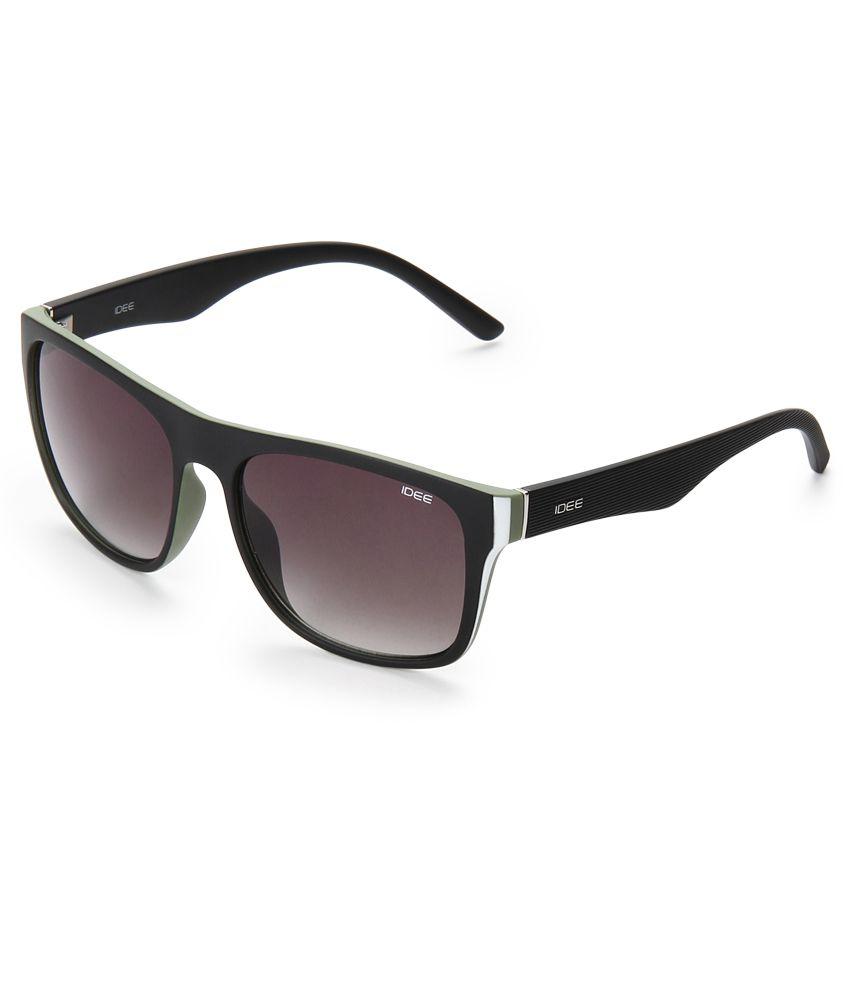 Idee Black Square Sunglasses