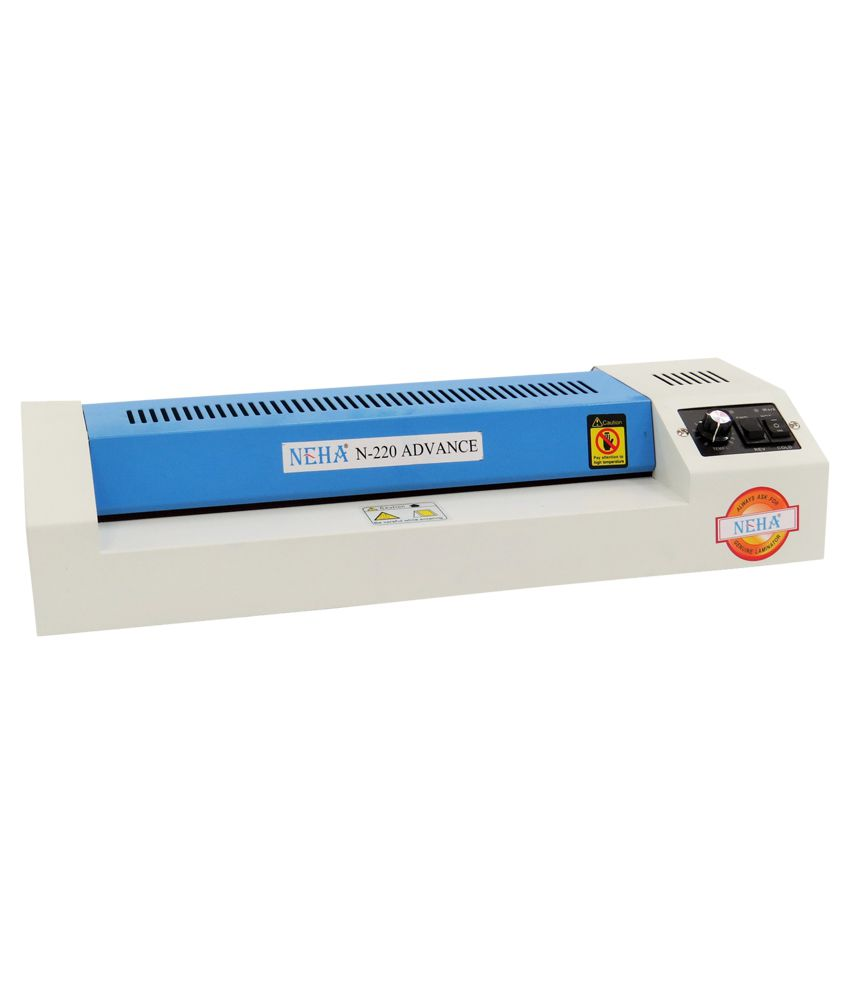 Neha N220 Advance Lamination Machine White And Blue Buy Online At