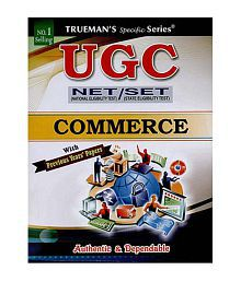 Trueman's UGC NET Commerce Paperback (English) 2016 Edition