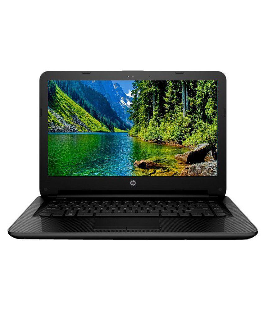 HP 14-AC171TU Notebook (T5Q67PA) (5th Gen Intel Core i3- 4 GB RAM- 1 TB HDD- 35.56 cm (14)- DOS) (Black)