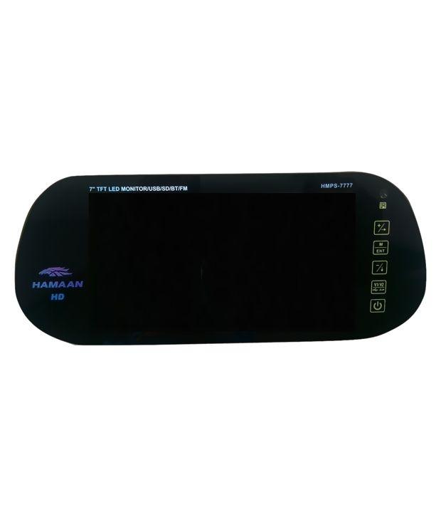 Hamman Hmps 7778 Car Rear View Monitor Black Buy Hamman Hmps