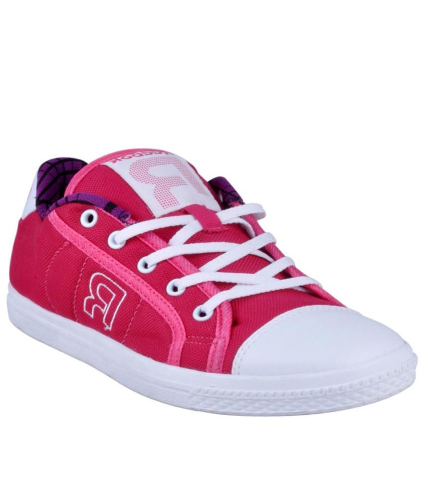 6e836b6684a Reebok V61281 Pink Casual Shoes Price in India- Buy Reebok V61281 Pink  Casual Shoes Online at Snapdeal