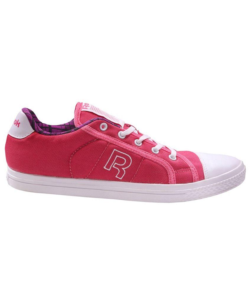 Reebok Pink Casual Shoes Price in India Buy Reebok Pink