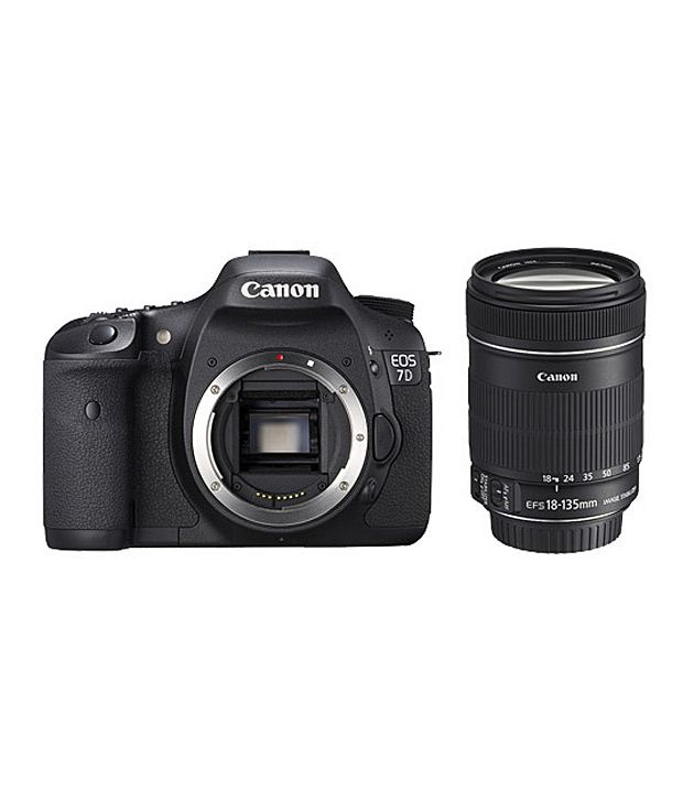 Canon Eos 7d With 18 135mm Is Lens Price In India Buy Canon Eos 7d