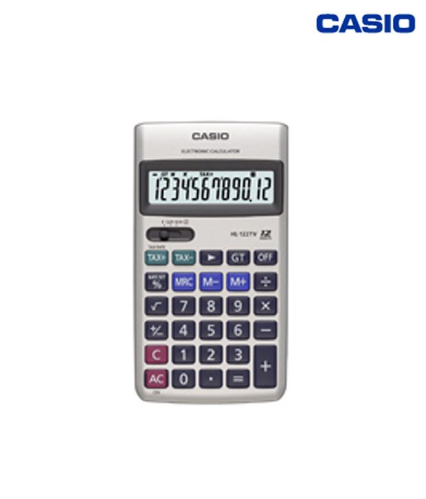 Casio Portable Type Calculator HL-122TV