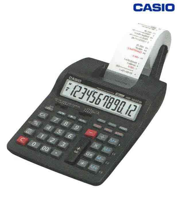 Casio Printing Calculator HR 100TM Buy line at Best