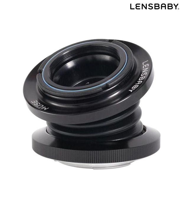 Lensbaby Muse with Double Glass  Optic Nikon F Lens (LBM2N)