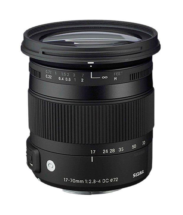 Sigma 17-70MM F/2.8-4 Canon Lens